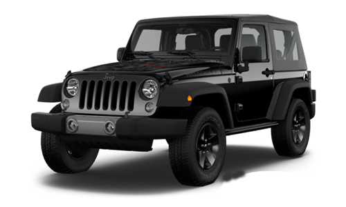 Jeep Wrangler Black Bear