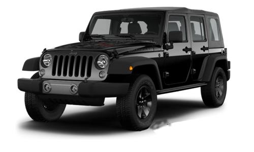 Jeep Wrangler Unlimited Black Bear