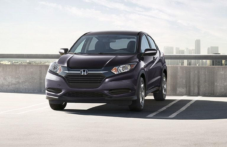 Honda HR-V Front End View in Gray