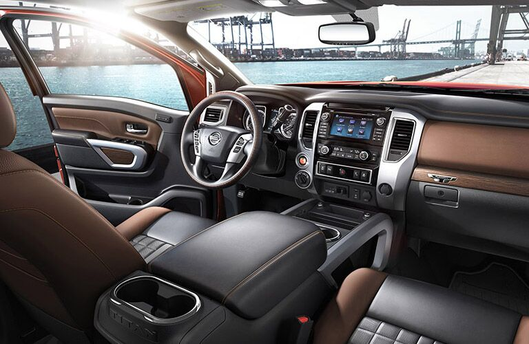 Interior And Nissanconnect In Nissan Titan