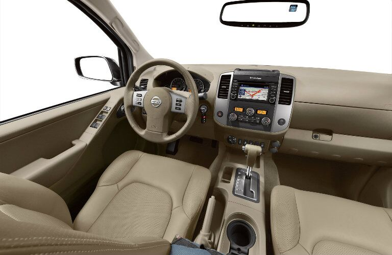 2016 nissan frontier interior features and technology
