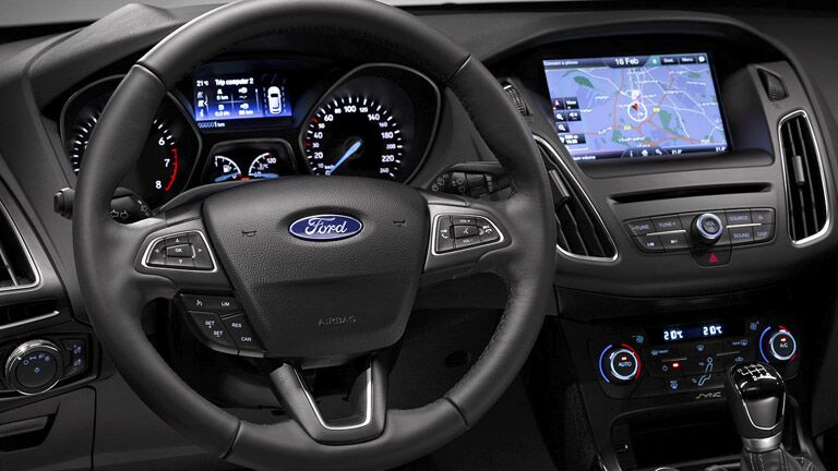 2015 Ford Focus general dashboard view