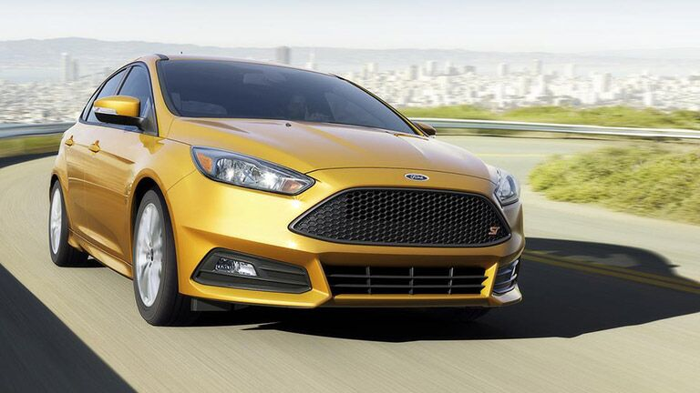 front view of the  2015 Ford Focus sedan