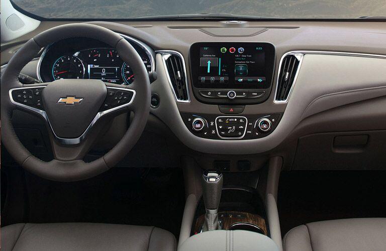 2016 Chevy Malibu dashboard view