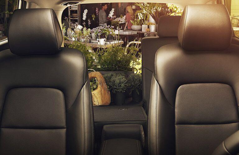 2016 Hyundai Tucson cargo and passenger space