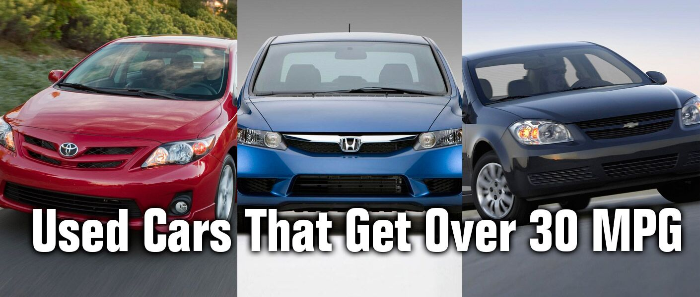 Finding used cars that get over 30 mpg in indianapolis