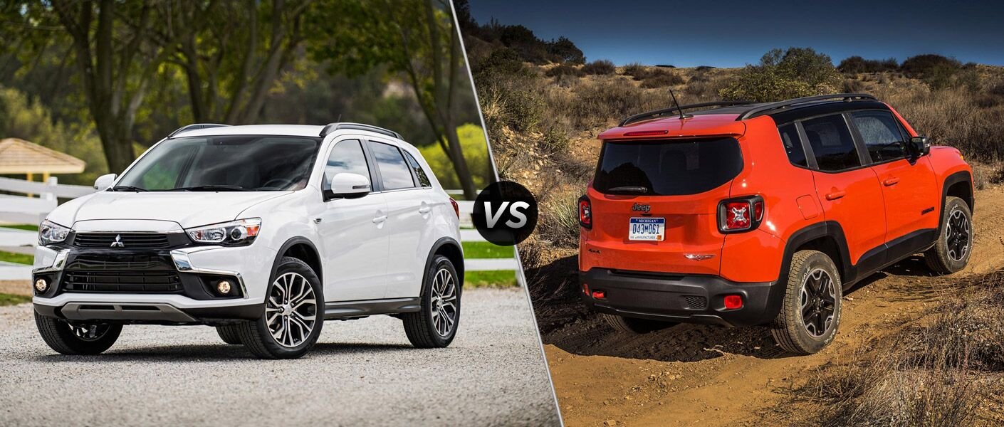 2015 Mitsubishi Outlander Sport vs 2016 Jeep Renegade