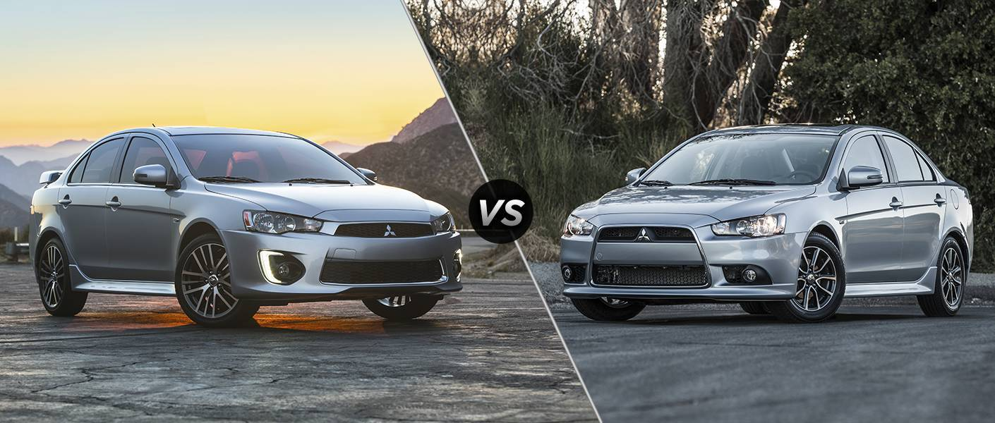 2016 Mitsubishi Lancer vs 2015 Mitsubishi Lancer comparison Don ...