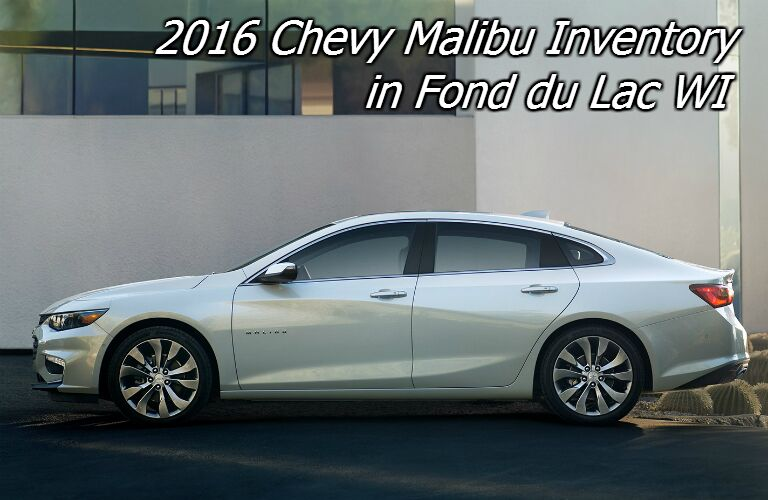 new 2016 chevy malibu for sale in fond du lac wi
