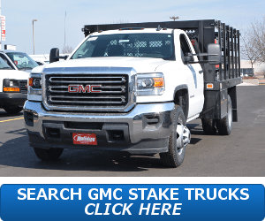 GMC Sierra HD Stake Truck