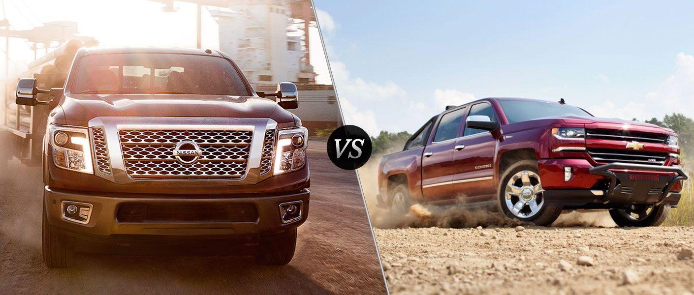 Ford Dealership Winston Salem 2016 Nissan Titan XD vs. 2016 Chevy Silverado 1500