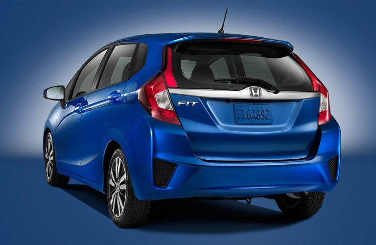 Blue 2016 Honda Fit Exterior