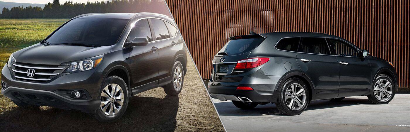 2014 Honda CR-V vs 2014 Hyundai Santa Fe Sport