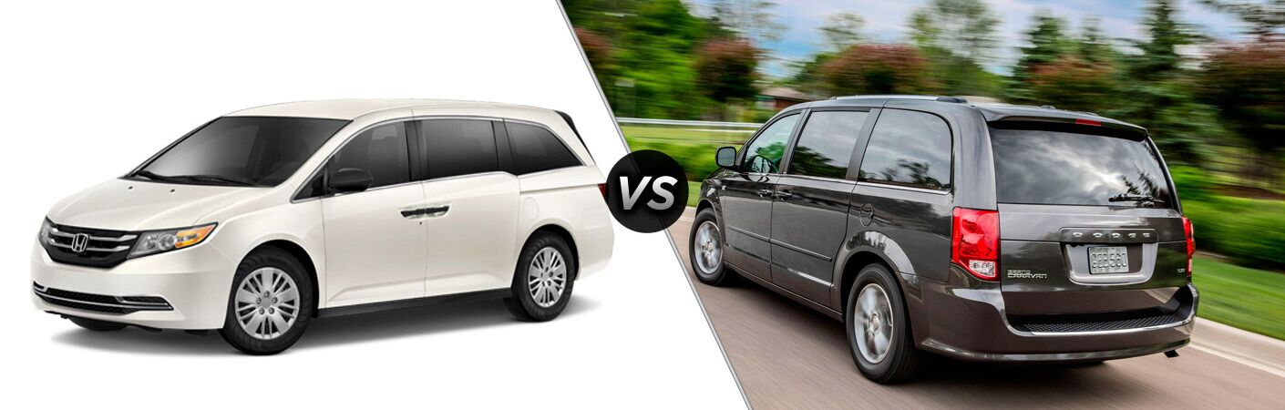 2014 Honda Odyssey vs 2014 Dodge Grand Caravan