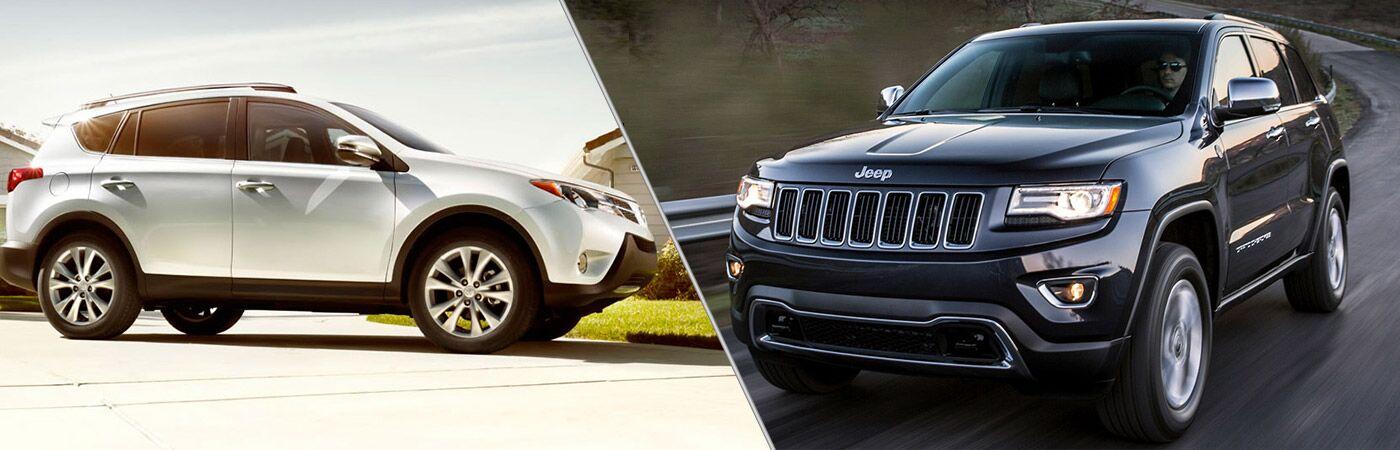 2014 Toyota Rav4 vs 2014 Jeep Cherokee