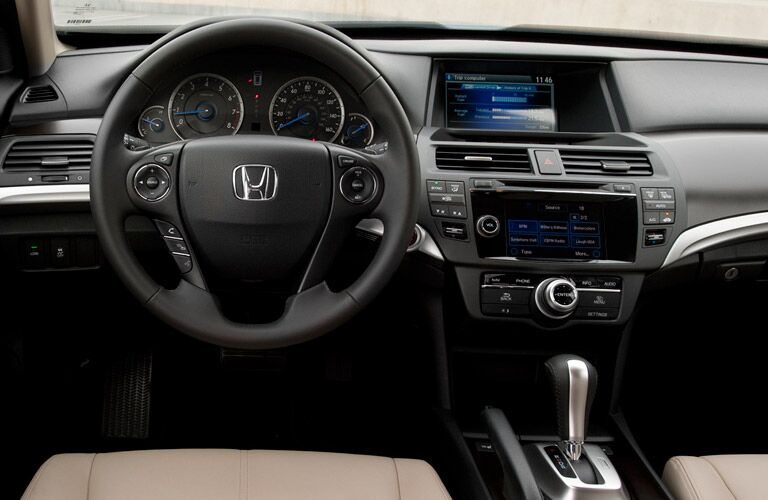 2015 Honda Crosstour audio display