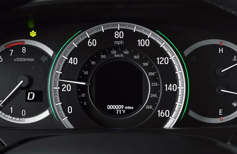 2016 Honda Accord speedometer