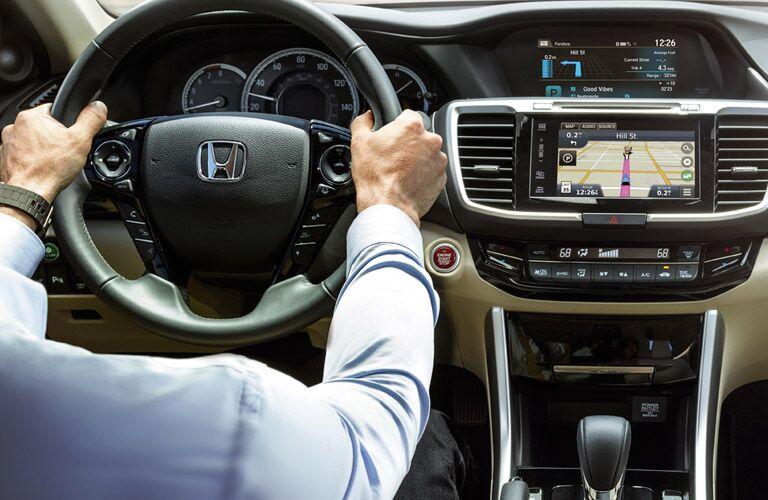2016 Honda Accord navigation