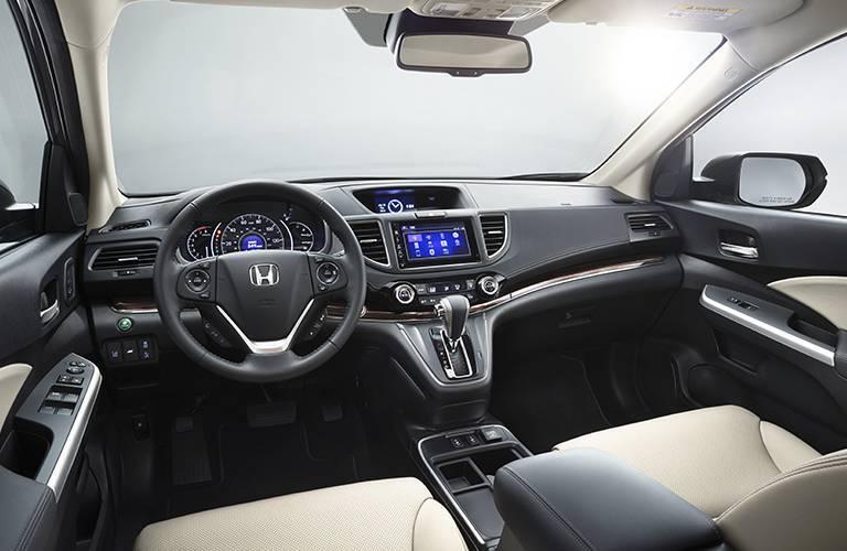 2016 Honda CR-V seating