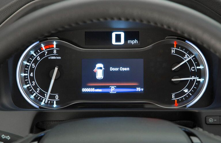 2016 Honda Pilot multi-info display