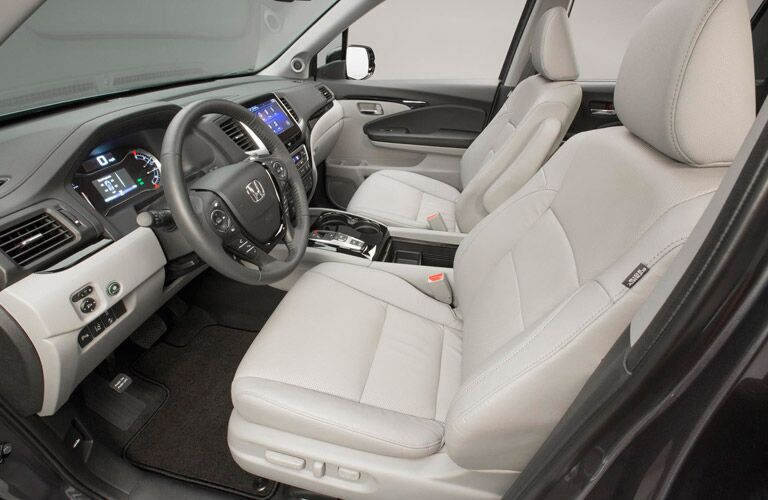 2016 Honda Pilot seating