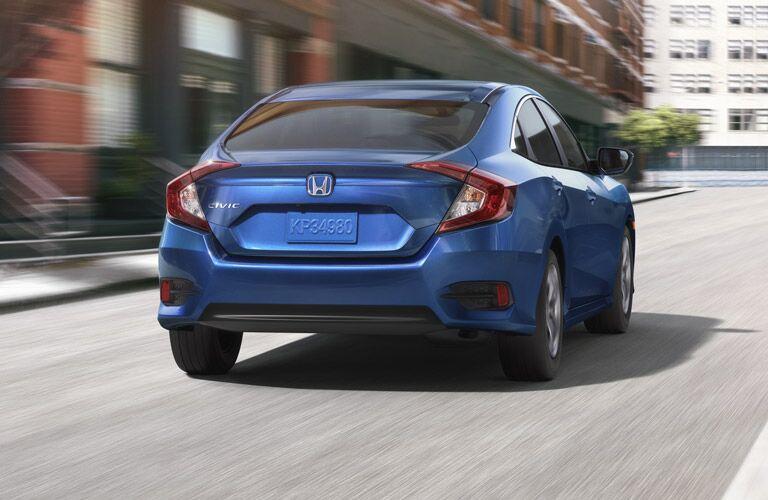 2016 Honda Civic rear design