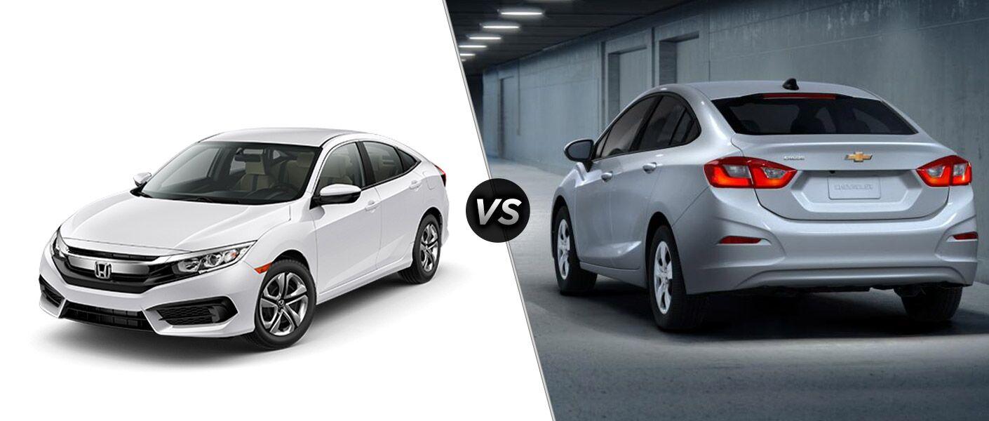 2016 Honda Civic vs 2016 Chevy Cruze