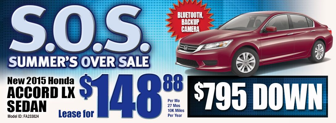 Honda Accord Lease Special - Accord lease