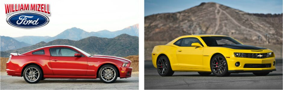 2013 Ford Mustang Vs. Chevrolet Camero