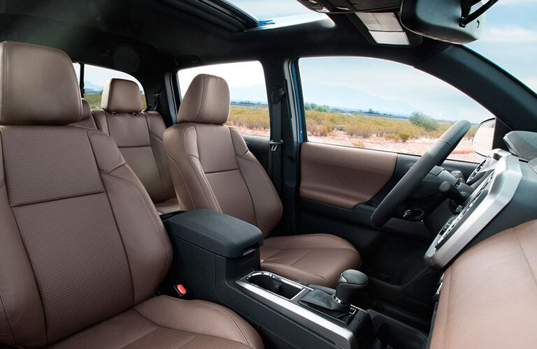 2016 Toyota Tacoma interior front seat