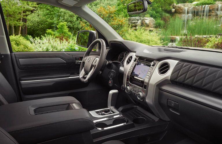 2016 Toyota Tundra interior front seat dashboard