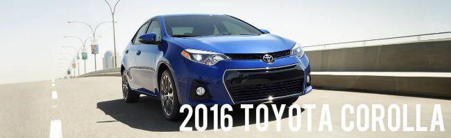 2016 Toyota Corolla vs 2016 Nissan Sentra