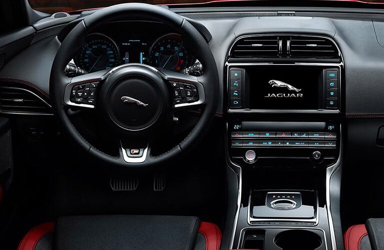 2017 Jaguar XE San Antonio TX Dashboard