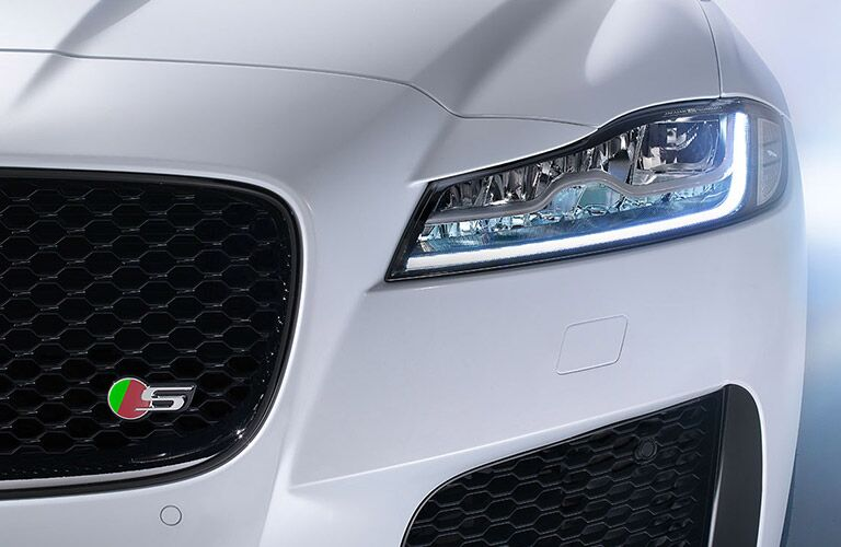2016 Jaguar XF San Antonio TX White Front Grille