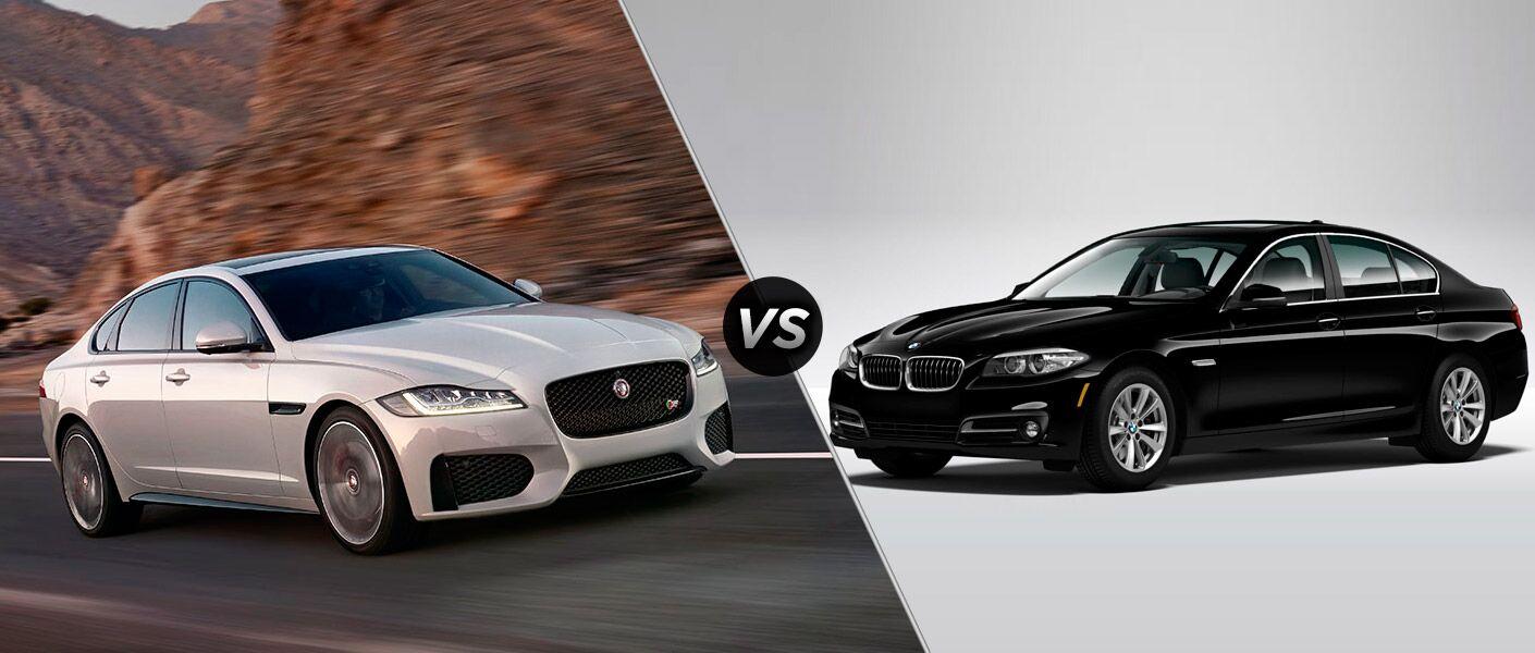 jaguar xf vs 2016 bmw 5 series