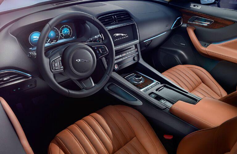 2017 Jaguar F-PACE San Antonio TX Dashboard