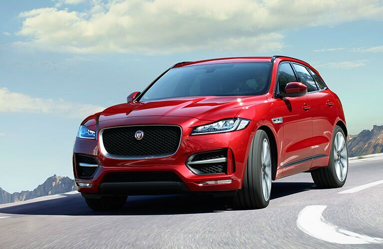 2017 Jaguar F-PACE San Antonio TX Red