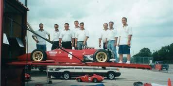 Ferrari Service Team