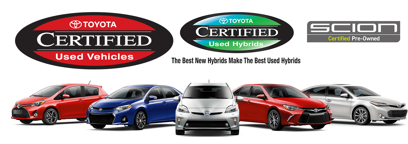 Toyota Certified Used Vehicles at Sheehy Toyota of Stafford