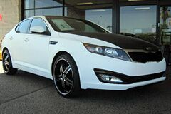 2012 Kia Optima w/ Matte Black Hood