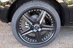 20 inch black Lorenzo WL019 wheels