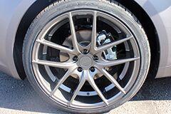 Matte Black Niche wheels
