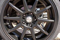 Matte Black Niche Racing Wheels