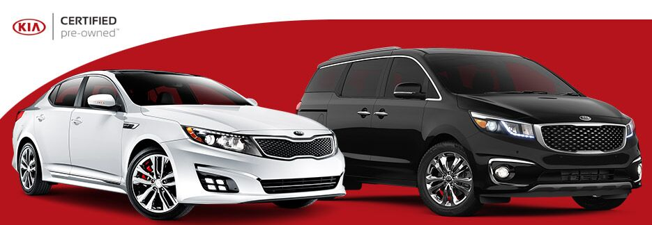 CERTIFIED PRE-OWNED KIA VEHICLE INFORMATION