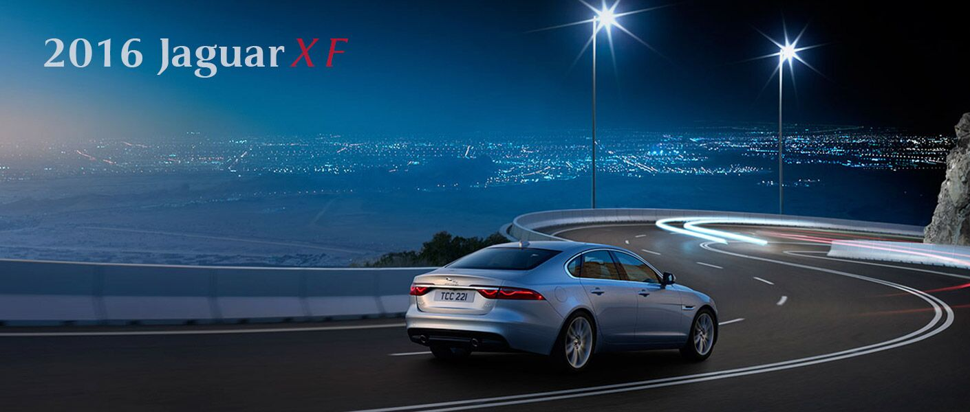 2016 Jaguar XF Kansas City silver model