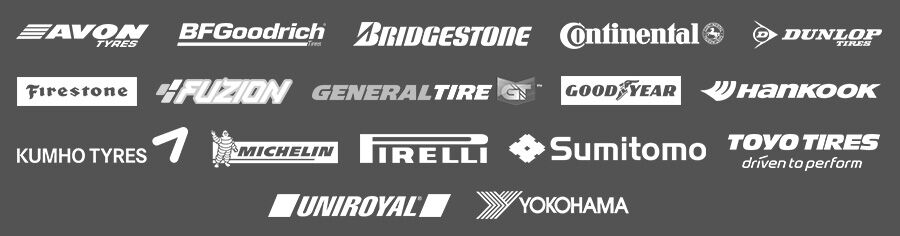 Tire brands available at Sheehy Toyota of Fredericksburg