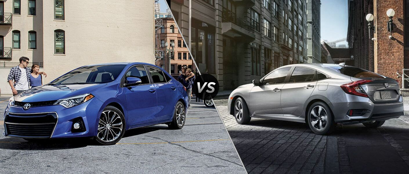 2016 Toyota Corolla vs. 2016 Honda Civic