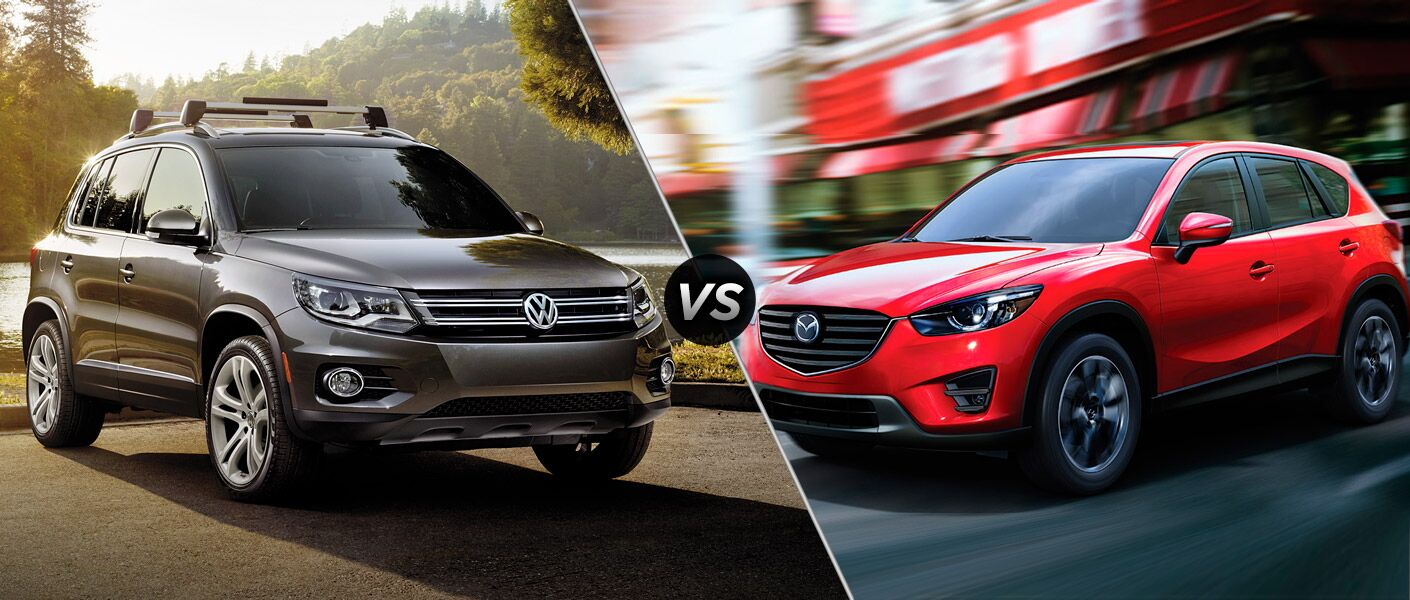 2016 Volkswagen Tiguan vs. 2016 Mazda CX-5 Little Rock AR