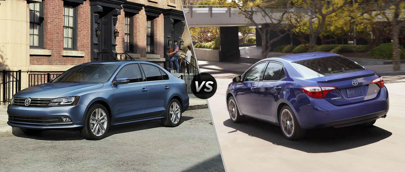 2016 Volkswagen Jetta vs. 2016 Toyota Corolla Little Rock AR