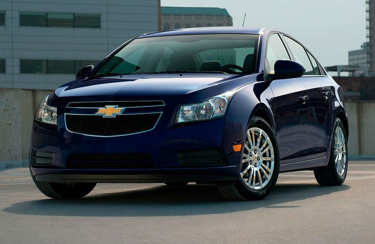 Used Chevy Cruze blue exterior Hot Springs AR